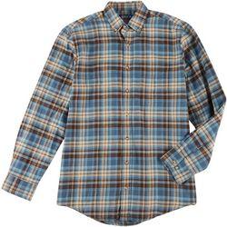 Mens Long Sleeve Flannel Shirt