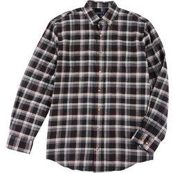 Mens Long Sleeve Plaid Shirt