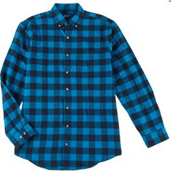 Mens Checkered Flannel Shirt