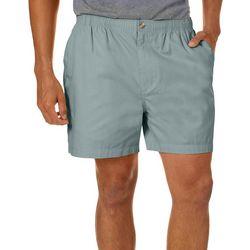 Windham Pointe Mens Solid 7'' Elastic Waist Shorts
