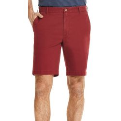 IZOD Mens Saltwater Solid Chino Shorts