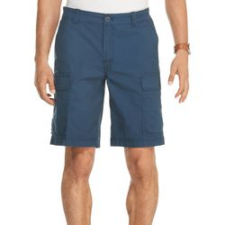 IZOD Mens Saltwater Solid Cargo Shorts