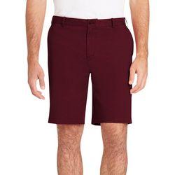 IZOD Mens Slim Fit Solid Chino Shorts