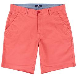 Mens Solid Stretch Shorts