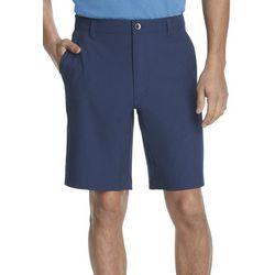 Van Heusen Mens Solid Stright Fit Shorts