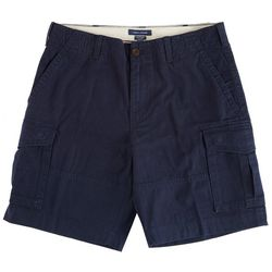 Tommy Hilfiger Mens Solid Cargo Shorts