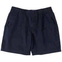 Tommy Hilfiger Mens Theo Solid Elastic Waist Chino Shorts
