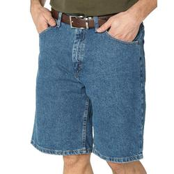 Mens Regular Fit Denim Shorts