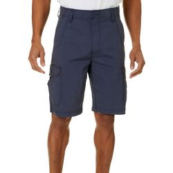 Mens Solid Crossroads Cargo Shorts