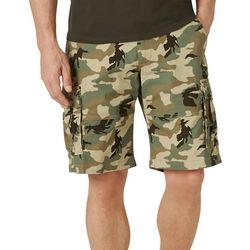 Lee Mens Extreme Motion Carolina Camo Cargo Shorts