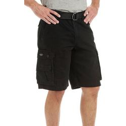Mens Solid Wyoming Cargo Shorts