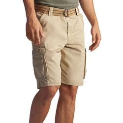 Mens Dungarees Belted Wyoming Cargo Shorts