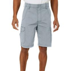 Mens Solid Crossroads Cargo Shorts