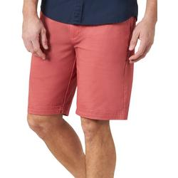 Mens Extreme Comfort Flat Front Solid Shorts