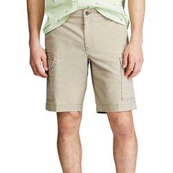Chaps Mens Coastland Performance 10 Cargo Shorts