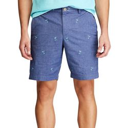 Chaps Mens Palm Tree Print Shorts