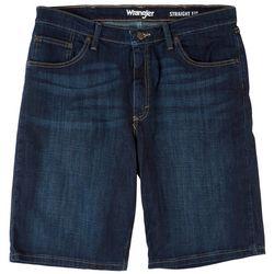 Wrangler Mens Flex Denim Straight Fit Shorts