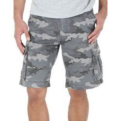 Wrangler Mens Camouflage Print Cargo Shorts
