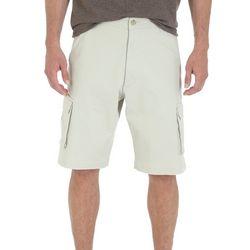 Wrangler Mens Tampa Solid Cargo Shorts