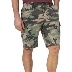 Wrangler Mens Nash Camo Cargo Shorts