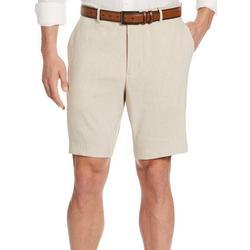 Mens Linen Blend Shorts