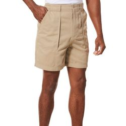 Mens Solid Swiss Army Shorts