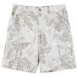 Boca Classics Mens Tropical Cargo Shorts