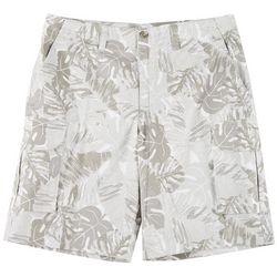 Mens Tropical Cargo Shorts