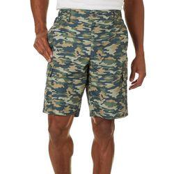 Boca Classics Mens Camo Ripstop Cargo Shorts