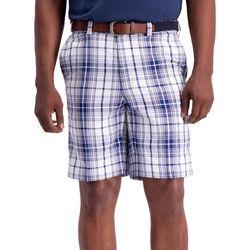 Mens Cool 18 Pro Tonal Plaid Shorts