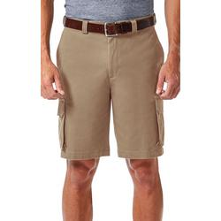 Mens Stretch Comfort Cargo Shorts