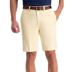 Haggar Mens Cool 18 Pro Oxford Solid Shorts