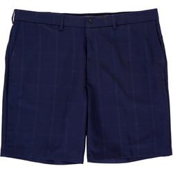 Haggar Mens Active Series Performance Windowpane Shorts
