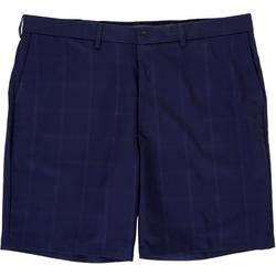 Mens Active Series Performance Windowpane Shorts