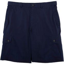 Haggar Mens Expandable Wasit Ripstop Comfort Cargo Shorts