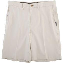 Haggar Mens Cool 18 Pro Solid Shorts