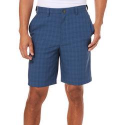 Mens Cool 18 Pro Windowpane Plaid 9.5 Shorts