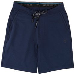 International Report Mens Solid Stretch Knit Shorts