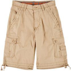 Wearfirst Mens Sateen Cargo Shorts
