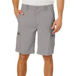 Mens Free Band Comfort Waist Cargo Shorts