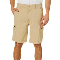 Wearfirst Mens Solid Hiker Cargo Shorts