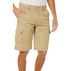 Mens Sateen Cargo Shorts