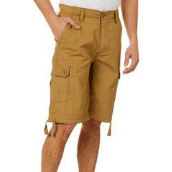 Mens Longboat Comfort Waist Cargo Shorts