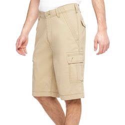Wearfirst Mens Mindy Solid Cargo Shorts