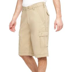 Mens Mindy Solid Cargo Shorts