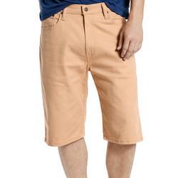 Mens 569 Loose Fit Straight Khaki Shorts