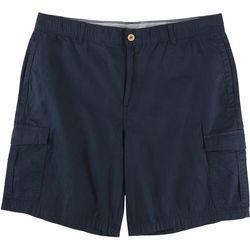 Caribbean Joe Mens Solid Cargo Messenger Shorts