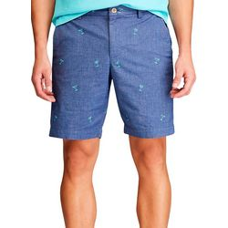 Chaps Mens Palm Tree Print Shorts