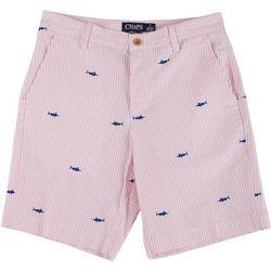 Chaps Mens Marlin Seersucker Shorts
