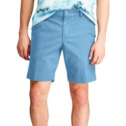 Chaps Mens Solid Twill Shorts